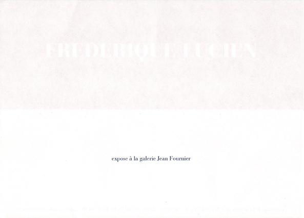 carton, frédérique Lucien, J. Fournier, verso, 2006