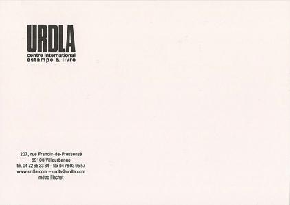 carton, Offrez l'art de demain, verso, 2010